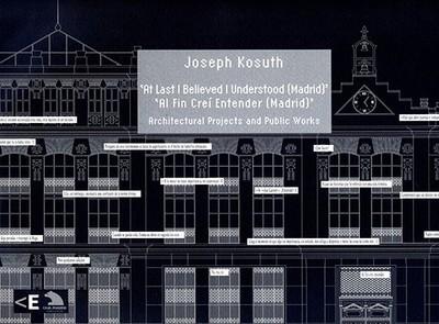 At Last I Thought I Understood - Kosuth, Joseph