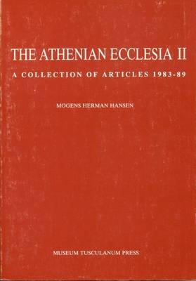 Athenian Ecclesia - Hansen, Mogens Herman