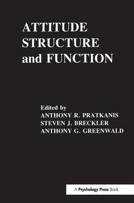 Attitude Structure and Function - Pratkanis