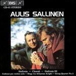 Aulis Sallinen: Sinfonia; Chorali; Sinfonia III; Cadenze per violino solo; Elegy for Sebastian Knight