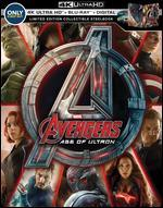 Avengers: Age of Ultron [SteelBook] [Digital Copy] [4K Ultra HD Blu-ray/ Blu-ray] [Only @ Best Buy]