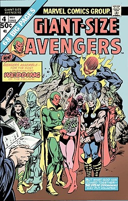 Avengers: Vision and the Scarlet Witch - Englehart, Steve, and Mantlo, Bill, and Heck, Don (Artist)