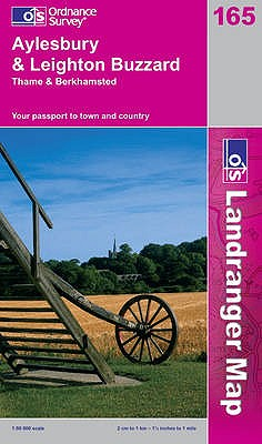 Aylesbury & Leighton Buzzard: Thame & Berkhamsted. [Made, Printed and Published by Ordnance Survey] - Great Britain Ordnance Survey
