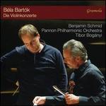 Béla Bartók: Die Violinkonzerte