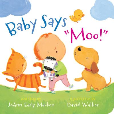 "Baby Says ""moo!"" [padded Board Book] - Macken, Joann Early"