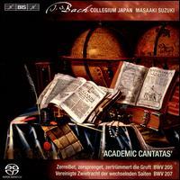 Bach: Academic Cantatas - Bach Collegium Japan; Joanne Lunn (soprano); Masako Hirao (viola da gamba); Masamitsu San'nomiya (oboe d'amore);...