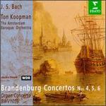 Bach: Brandenburg Concertos Nos. 4, 5, 6; Organ Concerto BWV 1059 - Christophe Coin (viola da gamba); Jaap ter Linden (cello); Jan Schlapp (viola); Monica Huggett (violin);...