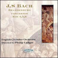 Bach: Brandenburg Concertos, Nos. 4, 5 & 6 - Jose-Luis Garcia (Asensio) (violin); Norbert Blum (viola); Paul Davies (flute); Philip Ledger (harpsichord);...