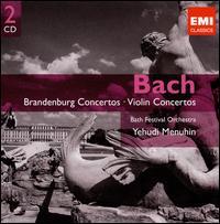Bach: Brandenburg Concertos; Violin Concertos - Ambrose Gauntlett (viola da gamba); Christian Ferras (violin); Christopher Taylor (recorder); Dennis Clift (trumpet);...