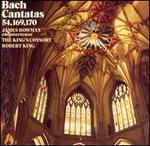 Bach: Cantatas 54, 169, 170