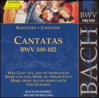 Bach: Cantatas, BWV 100-102 - Adalbert Kraus (tenor); Aldo Baldin (tenor); Arleen Augér (soprano); Eva Randova (alto); Helen Watts (alto);...