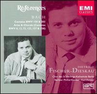 Bach: Cantatas, BWV 158 & 203; Arias & Chorals - Aur�le Nicolet (flute); Dietrich Fischer-Dieskau (baritone); Edith Picht-Axenfeld (harpsichord); Irmgard Poppen (cello);...