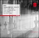 Bach: Cantatas BWV 161, 170 & 177