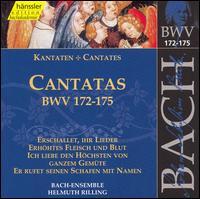 Bach: Cantatas, BWV 172-175 - Adalbert Kraus (tenor); Aldo Baldin (tenor); Carolyn Watkinson (alto); Doris Soffel (alto); Eva Csapo (soprano);...