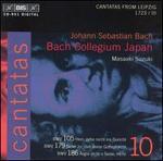 Bach: Cantatas, Vol. 10 - 3 Leipzig Cantatas