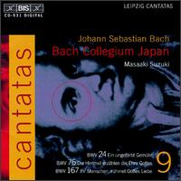 Bach: Cantatas, Vol. 9 - Bach Collegium Japan; Chiyuki Urano (bass); Gerd Türk (tenor); Midori Suzuki (soprano); Robin Blaze (counter tenor);...