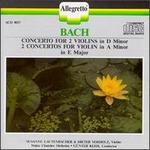 Bach: Concerto for 2 Violins in D minor; Concertos for Violin in A minor and E major - Dieter Vorholz (violin); Susanne Lautenbacher (violin); Mainz Chamber Orchestra; Günter Kehr (conductor)
