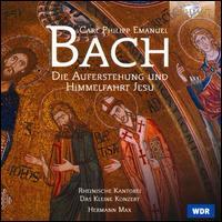 Bach: Die Auferstehung und Himmelfahrt Jesu - Barbara Schlick (soprano); Christoph Prégardien (tenor); Gotthold Schwarz (bass); Martina Lins (soprano);...