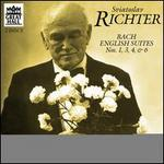 Bach: English Suites Nos. 1, 3, 4, 6