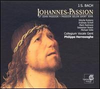 Bach: Johannes-Passion [2001 Recording] - Andreas Scholl (alto); Cécile Kempenaers (soprano); Dominik Wörner (bass); Mark Padmore (tenor); Michael Volle (bass);...