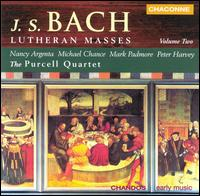 Bach: Lutheran Masses, Vol. 2 - Anthony Halstead (horn); Anthony Robson (oboe); Catherine Latham (oboe); Jane Rogers (viola); Mark Padmore (tenor);...