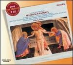 Bach: Matthäus-Passion - Andrea Ihle (soprano); Andreas Scheibner (baritone); Eberhard Büchner (tenor); Ekkehard Wegner (tenor);...