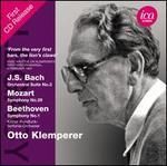 Bach: Orchestra Suite No. 3; Mozart: Symphony No. 29; Beethoven: Symphony No. 1
