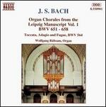 Bach: Organ Chorales from the Leipzig Manuscript, Vol. 1