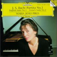 Bach: Partita No. 1; English Suite No. 3; French Suite No. 2 - Maria João Pires (piano)