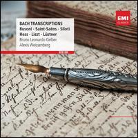 Bach: Piano Transcriptions - Alexis Weissenberg (piano); Bruno-Leonardo Gelber (piano)