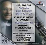 Bach: Sinfonias from Cantatas; C.P.E. Bach, Vivaldi: Oboe Concertos