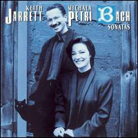 Bach: Six Sonatas - Keith Jarrett (harpsichord); Michala Petri (recorder)