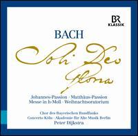Bach: Soli Deo Gloria - Johannes-Passion; Matthäus-Passion; Messe in h-Moll; Weihnachtsoratorium - Akademie für Alte Musik, Berlin; Alexander Heinzel (lektorat); Andreas Burkhart (vocals); Andreas Wolf (bass);...