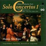 Bach: Solo Concertos Vol. 1