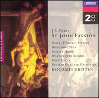 Bach: St. John Passion - Adam Skeaping (viola da gamba); Adrian Beers (double bass); Adrian Thompson (vocals); Alfreda Hodgson (vocals);...