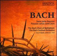 Bach: St. John Passion - Benjamin Butterfield (tenor); Charles Daniels (tenor); Christòpheren Nomura (bass); Daniel Taylor (alto);...