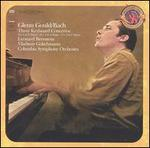 Bach: Three Keyboard Concertos