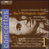 Bach: Violin Concertos, Vol. 1 - Bach Collegium Japan Orchestra; Marcel Ponseele (oboe); Masaaki Suzuki (harpsichord); Natsumi Wakamatsu (violin);...