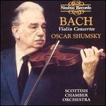 Bach: Violin Concertos - John Tunnell (violin); Oscar Shumsky (violin); Robin Miller (oboe); Scottish Chamber Orchestra; John Tunnell (conductor)