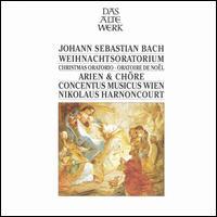Bach: Weihnachtoratorium - Arien & Chöre - Concentus Musicus Wien; Kurt Equiluz (tenor); Paul Esswood (alto); Siegmund Nimsgern (bass); Vienna Boys' Choir (soprano);...