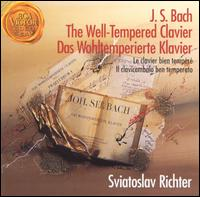 Bach: Well-Tempered Clavier - Sviatoslav Richter (piano)
