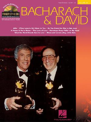 Bacharach & David: Piano Play-Along Volume 32 - Bacharach, Burt (Composer), and David, Hal (Composer)