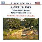 Barber: Orchestral Works, Vol. 1