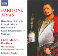 Baritone Arias - Lado Ataneli (baritone); Württemberg Philharmonic; Lodovico Zocche (conductor)