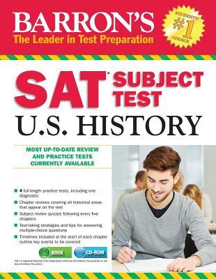 Barron's SAT Subject Test: U.S. History - Senter M S, Kenneth R