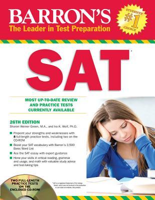 Barron's SAT with CD Rom - Wolf, Ira K.