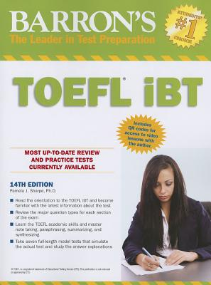 Barron's TOEFL iBT with CD Rom - Sharpe, Pamela J.