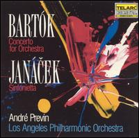 Bartók: Concerto for Orchestra; Janácek: Sinfonietta - Los Angeles Philharmonic Orchestra; André Previn (conductor)