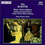 Bartók: Piano Transcriptions - Ilona Prunyi (piano)