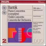 Bart?k: Piano Concertos; Violin Concerto No. 2; Concerto for Orchestra - Henryk Szeryng (violin); Stephen Kovacevich (piano)
